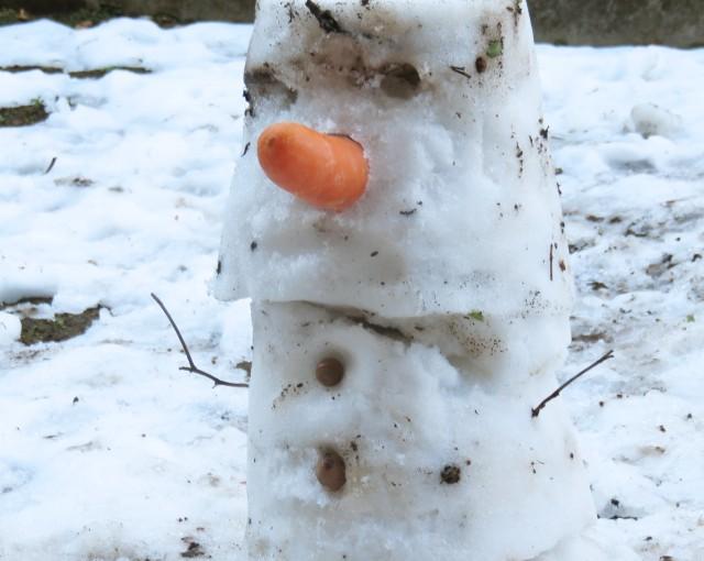 雪だるま、つくぅろ〜♪